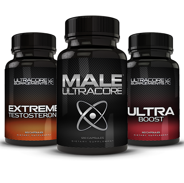 Male UltraCore and Ultra Boost + Extreme Testosterone